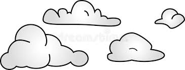 Clouds stock image Image of cloudy isolated forecast