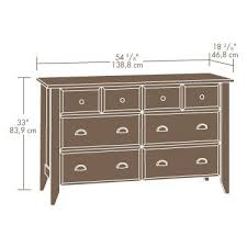 Sauder Shoal Creek Dresser Walmart by Sauder Shoal Creek 4 Piece Bedroom Set Shcr Bd Set U2013 Sauder