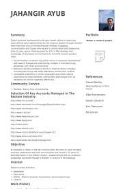 Business Development Manager Resume Examples