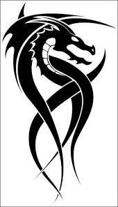 Latest Black Ink Dragon Tattoo Design Make O N Paper