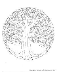 Spring Tree Coloring Pages