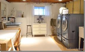 Unfinished Basement Laundry Room Ideas March 2018 Toolversed