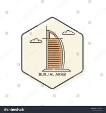 100 Burj Al Arab Plans Outline Icon Stock Image Download Now