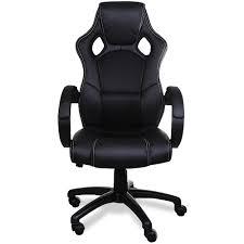 Playseat Office Chair Uk by Deuba Black Office Desk Pu Leather Computer Racing Gaming Swivel