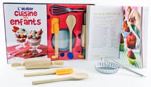 l atelier cuisine des enfants coffret laurence du tilly livre