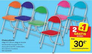 carrefour chaise pliante carrefour promotion chaise pliante produit maison carrefour