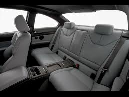 2008 BMW M3 Rear Interior Wallpaper