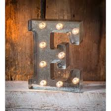 Light Up Marquee Letter E Walmart