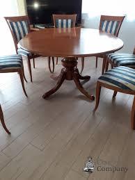 esszimmer mit 6 stühle selva louis philippe kirschbaum