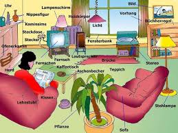 wohnzimmer livingroom englisch für anfänger vokablen