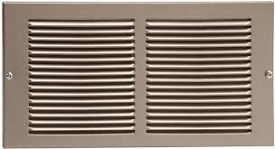 metal air grille cold air return vent covers