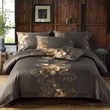 Luxury Tribute Silk Cotton Embroidery Luxury Bedding set Noble