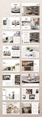 100 Design Interior Magazine Clean Informative Layouts Portfolio Design