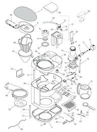 Mr Coffee Maker Parts Diagram Awesome Drawing At Of Lovely