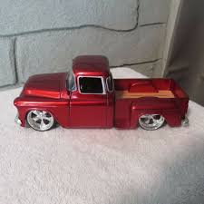 100 Cars Trucks Ebay 1955 Chevy Step Side Pickup124 Scale Die Castjada EBay