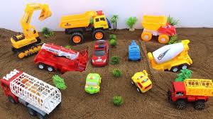 100 Kids Dump Truck Cars For Toys Review Sounds Excavator