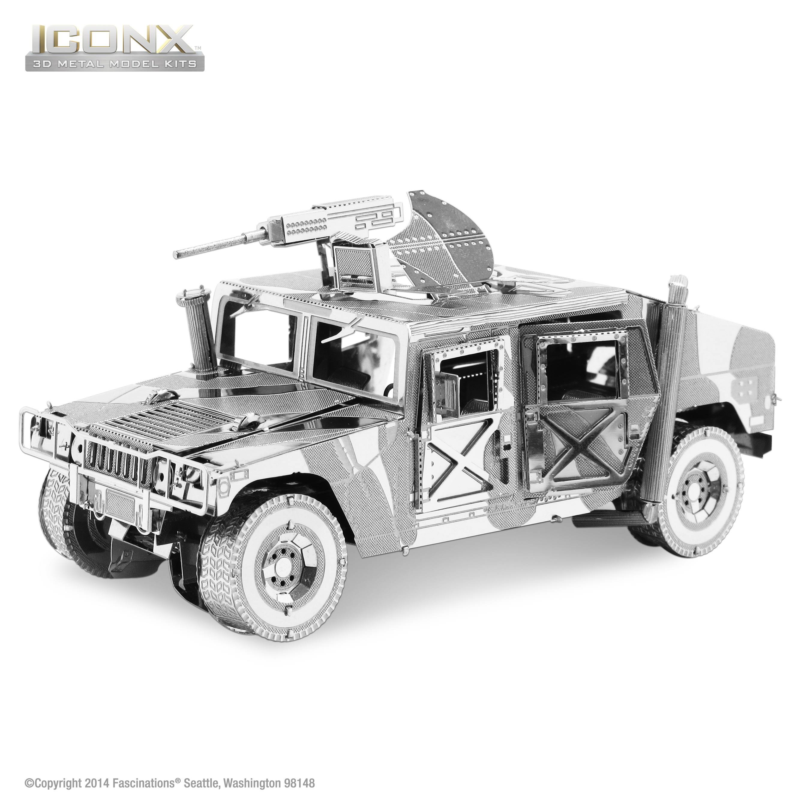 ICONX - Humvee 3D Metal Model Kit