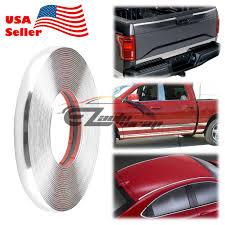 100 Truck Trim 25mm Chrome Car Decorative Edge Tape Molding Moulding