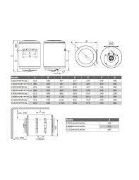 junkers elektrischer thermostat 50 liter gama elacell horizontal
