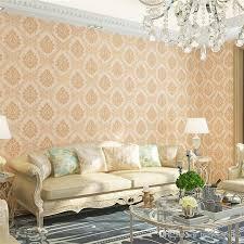 großhandel fabrik liefern billige vintage schlafzimmer tapete hause klassische damasttapete vintage wohnzimmer 4d tapete herstellung brave studio