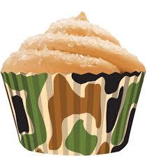 Cupcake Creations Standard Baking Cups 32 Pk Camo
