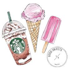 Drawn Starbucks Cute Summer 9