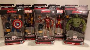 Marvel Legends Avengers Age Of Ultron Action Figures Review