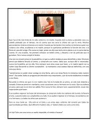 Carta De Madre A Hijos Mensajes Para Los Hijos Orgullosa De Ser
