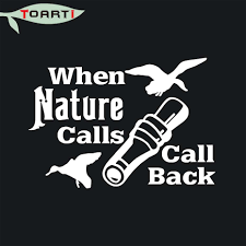 Nature Calls Hunting Ceative Funny Styling Truck Window Car Sticker ... Camouflage Wraps Hunting Camo Vehicle Deer Hoof Print Decals Truck Decal Official Bow Life Bowhunting Archery Stickers And Wild Turkey Hunter Bird Car Duck Sticker 4x4 Camo Max Grass Truck Decal For F150 F Firefighter Trd Tundra Tacoma Red Line Fire 2 Personalized Custom In Loving Memory Of Dad Gone Dog Etsy Product Wolf Eayes Tailgate Wrap Pickup Realtree Trucks Elkaholic Elk Van Club Buck