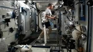 Exercise Is An Important Part Of The Daily Routine For Astronauts Aboard International Space Station To Prevent Bone And Muscle Loss Maintain