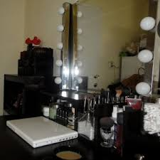 Makeup Vanity Table With Lights And Mirror by Bathroom Design Beautiful Lighted Vanity Mirror For Inspiring