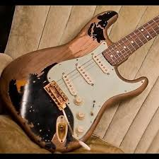 Stratocaster Relic John Mayer The Black One Clone