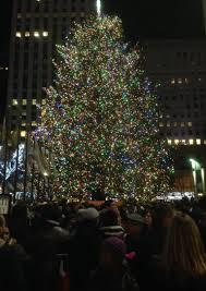 Lighting Of Rockefeller Christmas Tree 2014 by My Visit To Whisk Nyc Shoal Creek Cook