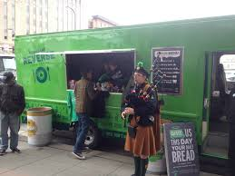100 Green Food Truck This Beer Companys Collects Donations For The Needy