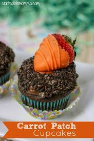 Easily Create This Fun Carrot Patch Cupcake Recipe For Easter Or Spring Its Super Cute