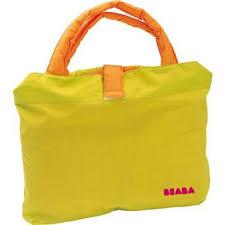 siege caddie bébé beaba siège confort pour caddie vert orange achat prix fnac