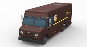 3D Ups Delivery Truck | 1142568 | TurboSquid