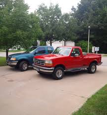My 97 Canadian F-150 And My 95 F-150 Flareside | Ford Trucks ... Evan Saucier His 95 Ford Built Tough Trucks Pinterest Are Bed Cover F150 Short Truck Enthusiasts Forums List Of Synonyms And Antonyms The Word 1995 Parts Ricks Ford Truck Xl Club Gallery Lifted 2019 20 New Car Release Date And Old Parked In A Meadow Editorial Image F150 4x4 Fender Options New To Forum Heres My Forum Community Fs F250 Single Cab Powerstroke Diesel The Outdoors Trader Radio Wiring Diagram Wire Center Metra 955026 Suv Ddin Dash Kit 95bigredmachine Regular Cab Specs Photos