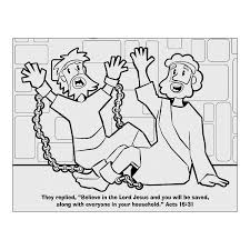 Dorcas In The Bible Coloring Pages Peter And Page