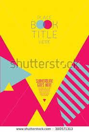 Brochure Cover With Background Design Vector Poster Abstract Pattern Graphic