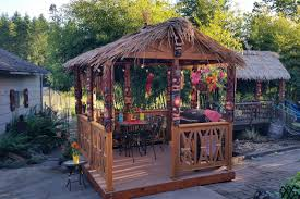 Authentic Tiki Hut For Your Backyard - Dixon Woodworking Inc. Tiki Hut Builder Welcome To Palm Huts Florida Outdoor Bench Kits Ideas Playhouse Costco And Forts Pdf Best Exterior Tiki Hut Cstruction Commercial For Creating 25 Bbq Ideas On Pinterest Gazebo Area Garden Backyards Impressive Backyard Patio Quality Bali Sale Aarons Living Custom Built Bars Nationwide Delivery Luxury Kitchen Taste Build A Natural Bar In Your For Enjoyment Spherd Residential Rethatch