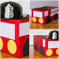 Fire Truck Halloween Costume Diy, Toddler Fire Truck | Trucks ...