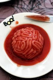 cuisiner cervelle cervelle ensanglantée un dessert bluffant pour