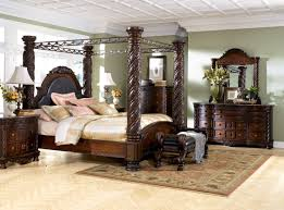 Ashley Furniture Living Room Set For 999 by North Shore Canopy Bed Set Ashley North Shore Furniture Bedroom