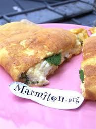 recette de cuisine corse omelette au brocciu corse recette omelette corse et marmiton