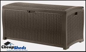 furniture resin wicker deck box suncast deck box deck storage