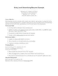 Entry Level Sales Resume Jobs Sample For