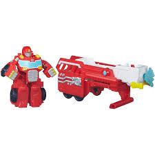 Rescue Bots Hook & Ladder Heatwave Playset 3pc - Transformers ...