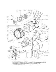 Tub Drain Assembly Diagram by Lg Washer Parts Model Wm3470hwa Sears Partsdirect