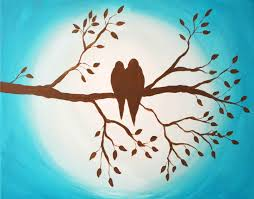 Branch Bird Art